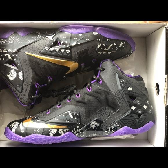 separation shoes 73e59 de6b9 Nike Lebron XI 11 BHM 2014 - Size 9 - BRAND NEW